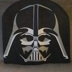 Darth Vader knit hat